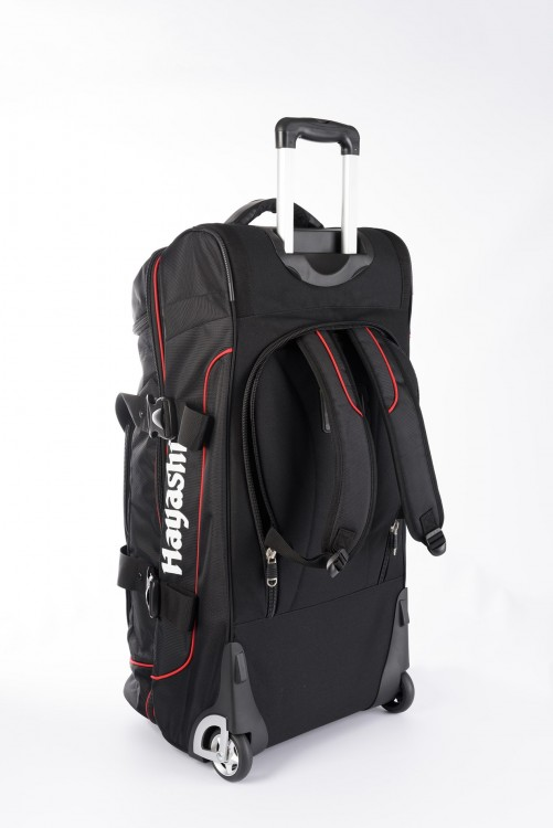 Hayashi Sports Bag Trolley (Deluxe Travel) Jumbo 8007