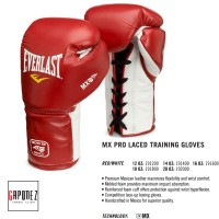 Everlast Boxing Gloves Lace-Up MX EVMXTG