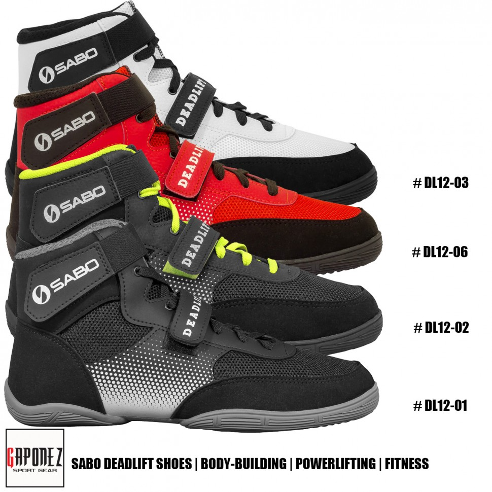 Sabo Deadlift Shoes DL12 | Powerlifting