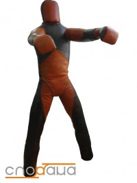 Sportana Wrestling Dummy Two Legs Leather SWMT