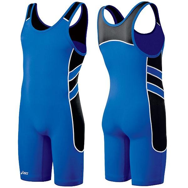Asics Wrestling Wrestler Suit Men's Blue Color JT1154-4390 Singlet Applet from Gaponez Sport Gear