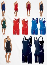 Asics Wrestling Suit Snap Down JT1155