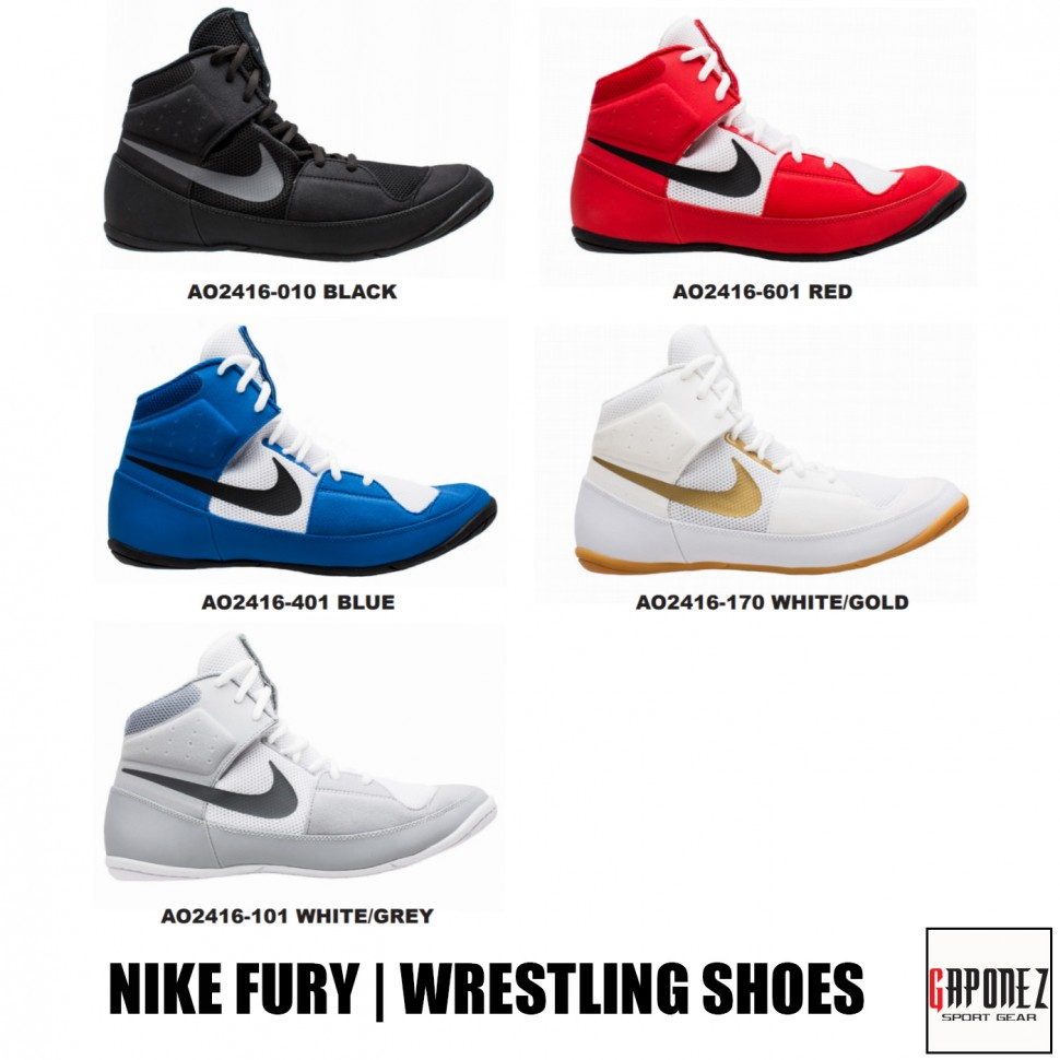 Nike Wrestling Shoes Fury AO2416 from