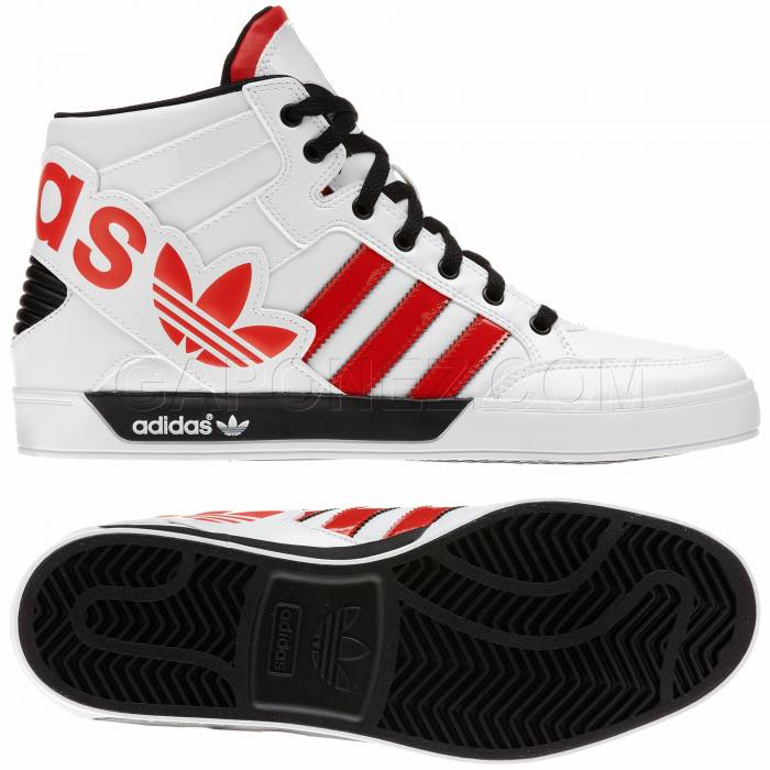 los angeles 7e182 49f0a Adidas Originals Обувь Hard Court Hi Big Logo Белый Цвет G66686