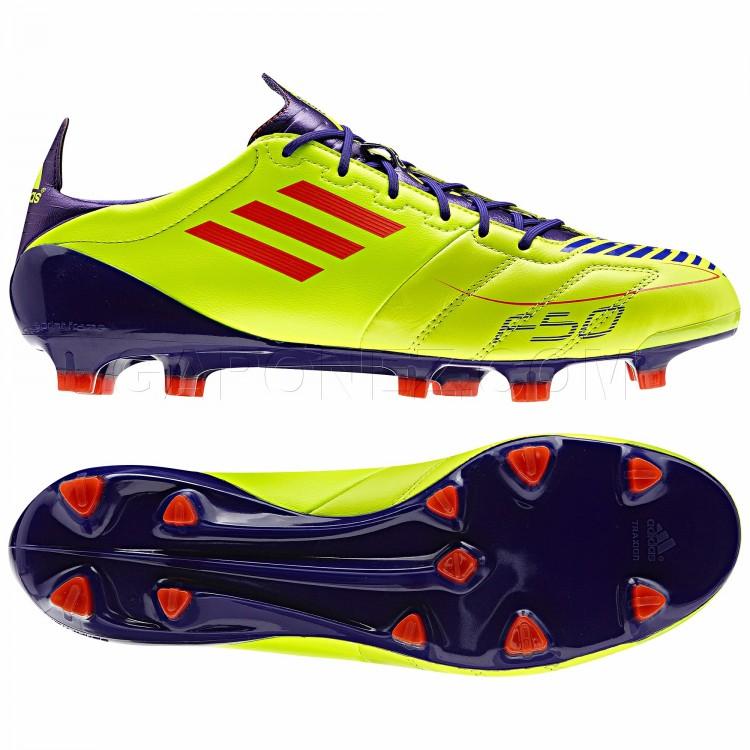 3ec8d53c Adidas Футбольная Обувь F50 Adizero TRX FG Leather Cleats G40337 футбольная  обувь (бутсы) soccer