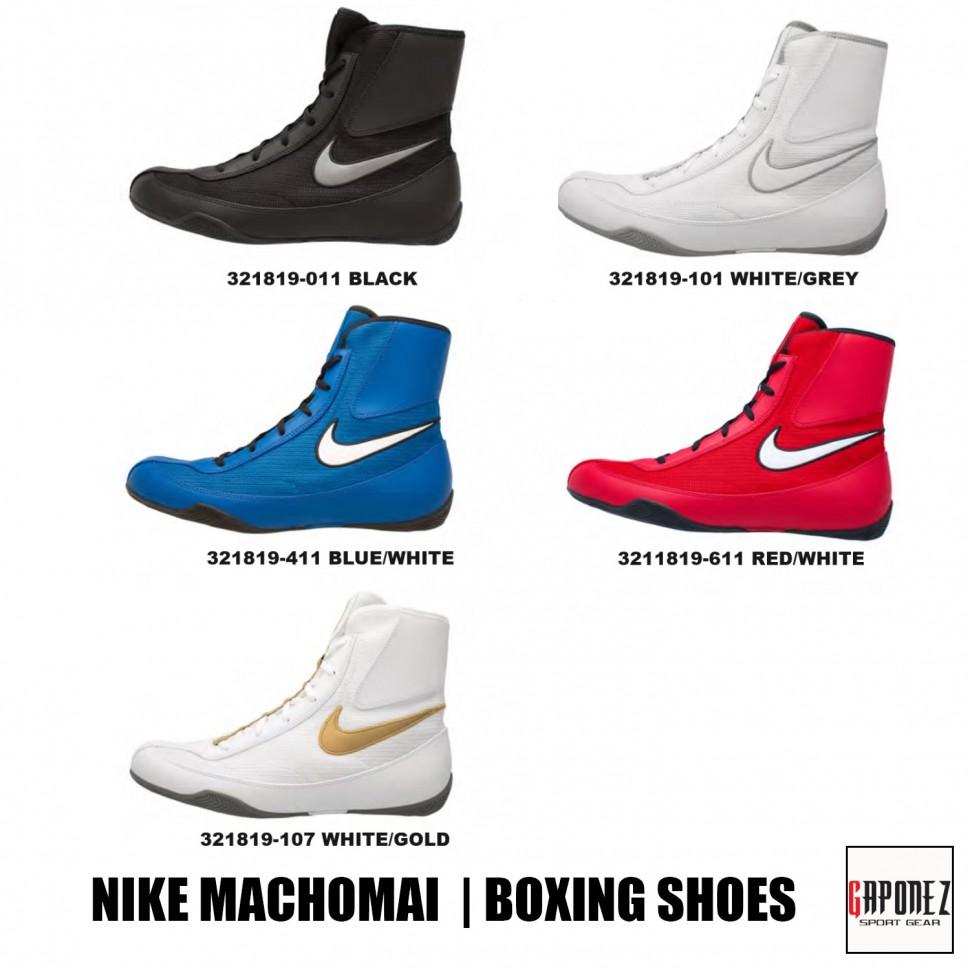 buy online bca9c fa743 Nike Boxing Shoes Machomai 321819