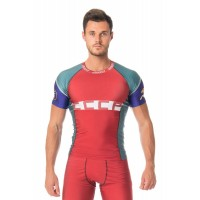 Ishi Top SS Rash Guard Compression CCCP ISSC