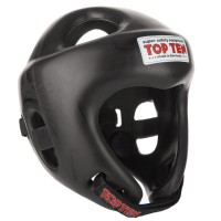Top Ten Boxing Head Guard Fight Black Colour 4061-9
