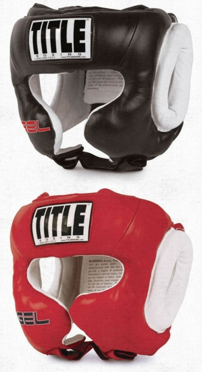 Title Boxing Headgear GEL® World GTTHG